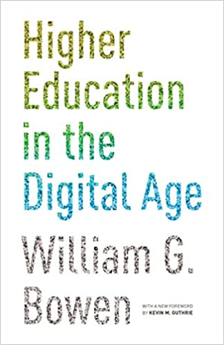 Book cover: higher education in the digital age