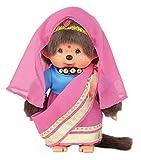ワールドモンチッチ 女の子 ぬいぐるみ  高さ20cm インド