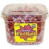 Atomic Fireballs Cinnamon Hard Candy, 40.5 Ounce Tub (Tamaño: 40.5 Ounce)