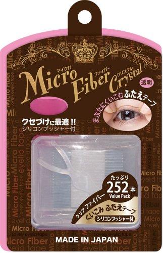 ビーエヌ BN マイクロファイバークリスタル ふたえテープ 二重まぶた化粧品 透明 クリア ファイバー MCFーV1