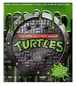 Teenage Mutant Ninja Turtles Movie Collection (25th Anniversary Collector's Edition) (Teenage Mutant Ninja Turtles / Secret of the Ooze / Turtles in Time / TMNT)