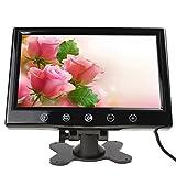 9インチ 大画面 TFT迫真ディスプレイ リアビューミラーモニター オンダッシュ式  サポート2オートウェイ (タッチボタン操作+リモコン付属) ビデオ出力V1/V2選択可 LCDカラースクリーン 高画質ワイドスクリーン
