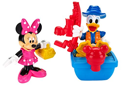 Fisher-Price Disney Mickey Mouse Clubhouse Minnie & Donald Fishing Pack - 1
