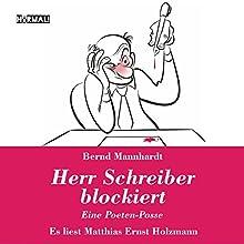 Herr Schreiber blockiert Hörbuch von Bernd Mannhardt Gesprochen von: Matthias Ernst Holzmann