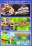 3 Film Box Set: Muppets Take Manhattan / Muppets From Space / Kermit's Swamp Years [DVD]