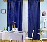 Velvet Drape Long Panel (Blue, 55