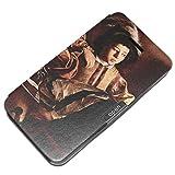 Caravaggio - Appeals Of St Matthew Detail 2, Texture Portafoglio Magnetico Flip PU Custodia Protectiva in Pelle...