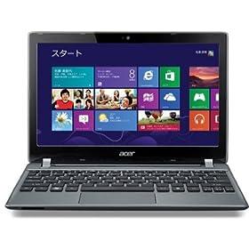 ��{�G�C�T�[ Acer V5-171-H54C/S Aspire V5 (Core i5-3337U/4G/320GB HDD/11.6/AP�Ȃ�/Win8 64bit)