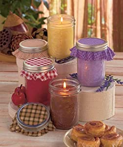 Holiday Canning Jar Candles - Get All 4