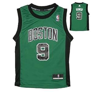 NBA BOSTON CELTICS RONDO #9 Youth Athletic Comfortable Fit Sleeveless Jersey by NBA