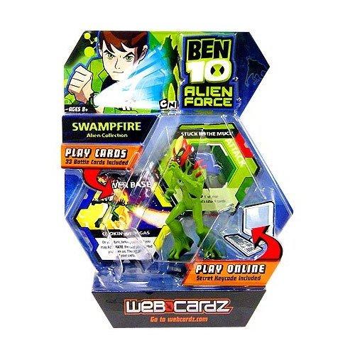 Ben 10 WebCardz - Swampfire deck - 1