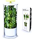 Breathable Fresh Herb Keeper and Herb Storage Container by NOVART - Keeps Greens and Vegetables Fresh for 2x Longer