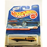 Hot Wheels 1998 First Editions: Solar Eagle III (#23 Of 40) 1:64 Scale Collector Car #650