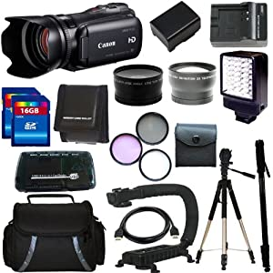 Canon VIXIA HF G10 HFG10 Full HD Camcorder with HD CMOS Pro and 32GB Internal Flash Memory + 32GB Deluxe Accessory Kit