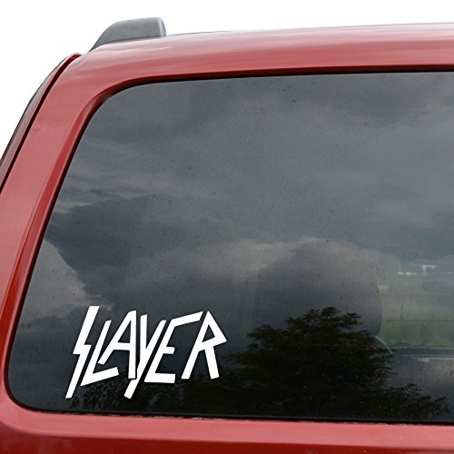 Slayer Rock Band auto finestra vinile