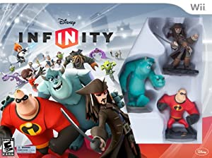 DISNEY INFINITY Starter Pack Wii (including Mike Wazowski and Power Disc Pack)