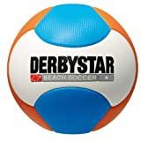Derbystar Beachsoccer Neu, Weiss/Orange/Blau, Gr. 5