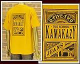 カマカージジーンズ KAMAKAZY JEANS G.CUE氏プロデュースブランド Tシャツ メンズ PLAYING
