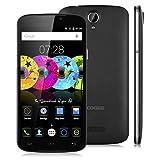 "Doogee X6 Pro - Smartphone Libre Android 5.1 (Quad Core, Pantalla 5.5"", IPS 1280*720 HD, 2GB RAM, 16GB ROM, Cámara 5.0MP, Dual SIM, GPS, OTA) Negro"