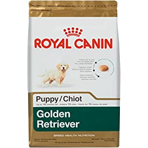 Royal Canin Golden Retriever Puppy Dog Food Dry Dog Food, 30-Pound Bag