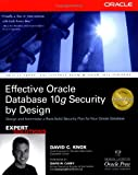 img - for Effective Oracle Database 10g Security by Design book / textbook / text book