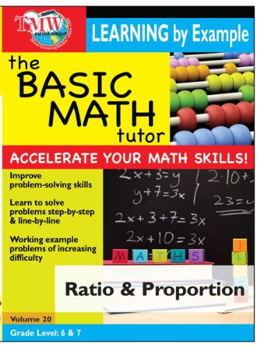 Basic Math Tutor: Ratio and Proportion