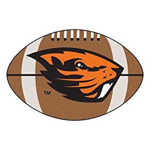 Oregon State Beavers Small Football Rug