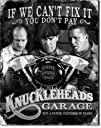 Three Stooges Tin Metal Sign  Knuckleheads Garage  1621513