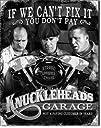 Three Stooges Tin Metal Sign : Knuckl…