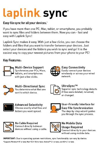 laplink for windows 10