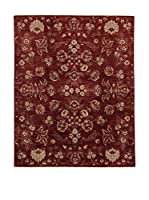 Design Community By Loomier Alfombra Oz Ziegler Mirage (Rojo/Beige)