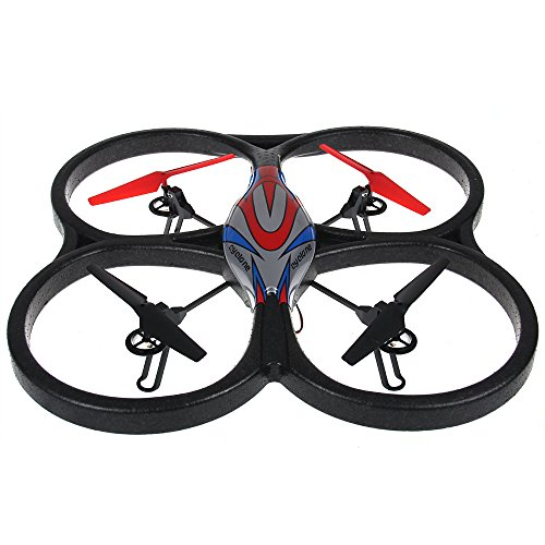 2.4Ghz 6 Axis Gyro Remote/Radio Control Rc Quadcopter Aircraft Ufo Toy Red