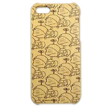 Woodケース iPhone5 (ドラえもん タケコプター)