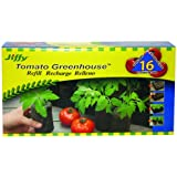 Jiffy 5047 Tomato Greenhouse 16-Plant Starter Refill