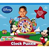 Disney Mickey Mouse Clubhouse Clock Puzzle