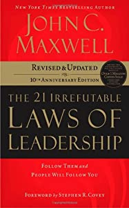 Cover of &quot;The 21 Irrefutable Laws of Lead...