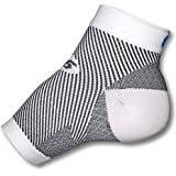 FS6 Compression Foot Sleeve | Releives Plantar Fasciitus | Eases Heel Pain | Aids Recovery |Medium ( Natural / Tanned )