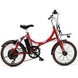 DUCATI(ドゥカティ) 電動 アシスト自転車 20 インチ レッド SDM-206E2 【TTF COMPLETE】ver.3 ※限定車両!