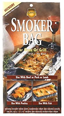 Savu Smoker Bag, Hickory, For Oven or Grill, 28 x 42cm Bags (Pack of 12)
