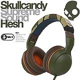 【日本正規品】 Skullcandy スカルキャンディー ヘッドホン ヘッドフォン Hesh 2.0 ヘッシュ CAMO カモ 迷彩 スマートフォン スマートホン スマホ対応マイク付き