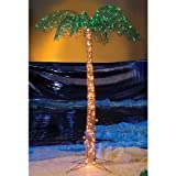 7 Feet Lighted Palm Tree