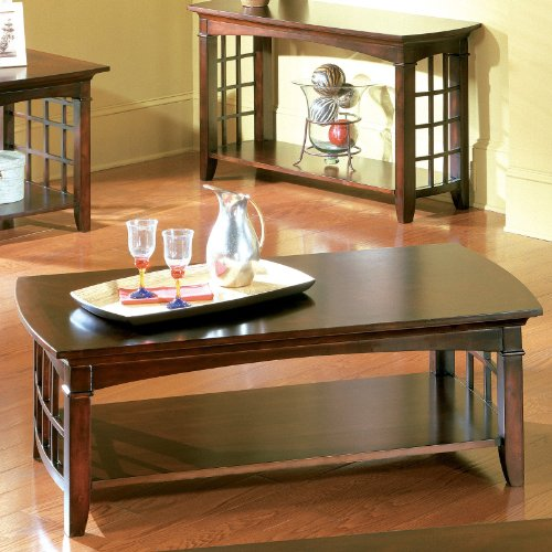 Standard Furniture Cambria Rectangular White Wood And: Buy Low Price Standard Furniture Utopia 3 Piece Coffee