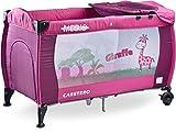 Cuna de viaje Medio Classic de Caretero, Farbe:Purple