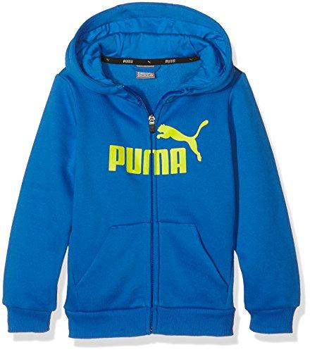PUMA ESS No.1 FZ - Felpa con cappuccio FL, colore blu (Royal), taglia 128 (7-8  anni), 838723 13
