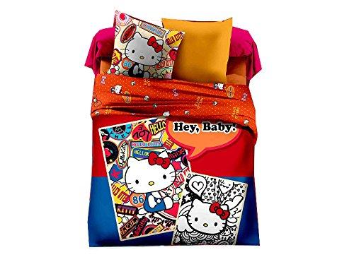 Hello Kitty Queen Bedding Set