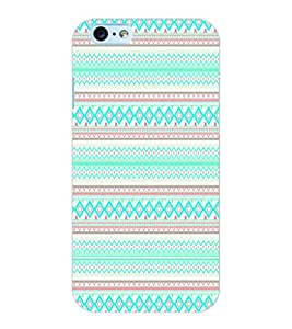 ColourCraft Tribal Pattern Design Back Case Cover for APPLE IPHONE 6S
