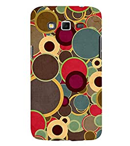 Multicolour Circular Pattern 3D Hard Polycarbonate Designer Back Case Cover for Samsung Galaxy Grand I9082 :: Samsung Galaxy Grand Z I9082Z