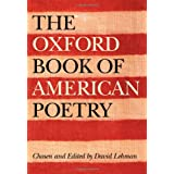 The Oxford Book of American Poetry ~ David Lehman
