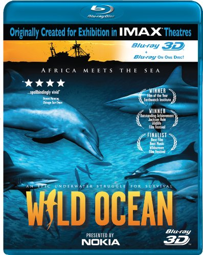 Cover art for  IMAX: Wild Ocean [Blu-ray 3D]