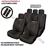 Volvo C30 Sports Seat Cover Set Black